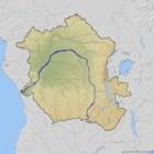 De Congo rivier (Zaire rivier)