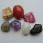 Edelstenen - agaat, amethist en bergkristal