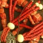 Bloedkoralen sieraden