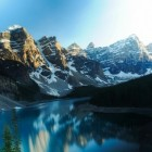 Natuurwonder Noord-Amerika: Moraine Lake