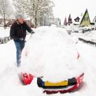 De kans op sneeuw in Nederland, de statistieken
