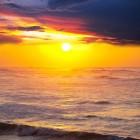 Zonsopkomst en zonsondergang in januari, februari en maart